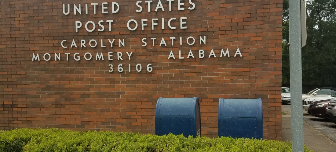 postal office montgomery alabama